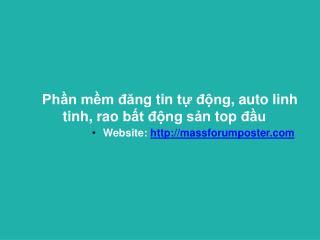 phanmemdangtinraovat