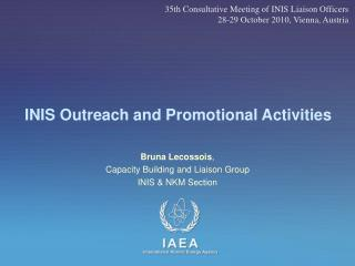 INIS Outreach and Promotional Activities