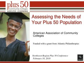 Assessing the Needs of Your Plus 50 Population