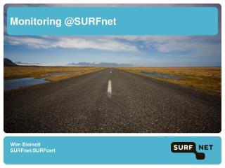 Monitoring @SURFnet