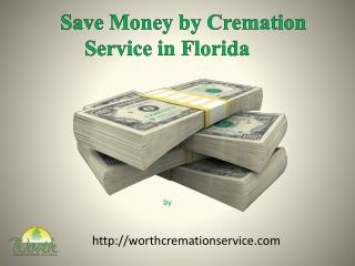 Save money by cremation in florida