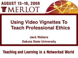 Jack Walters Dakota State University