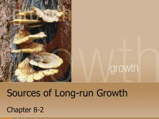 Sources of Long-run Growth