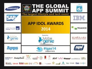 APP IDOL AWARDS  2014