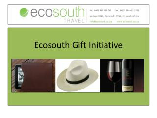 Ecosouth  Gift Initiative