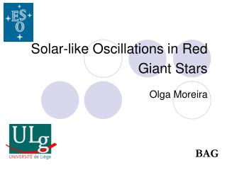 Solar-like Oscillations in Red Giant Stars