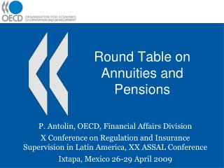 Round Table on Annuities and Pensions