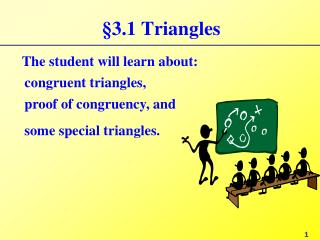 §3.1 Triangles