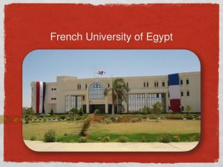 French University of Egypt