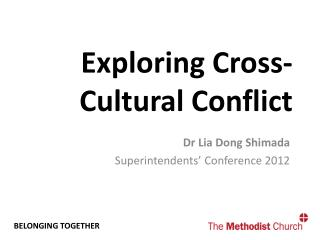 Exploring Cross-Cultural Conflict