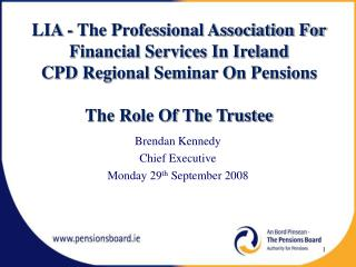 LIA - The Professional Association For Financial Services In Ireland