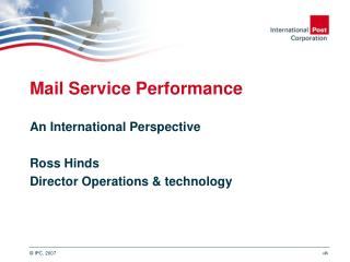 Mail Service Performance
