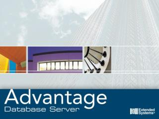 Advantage .NET Data Provider