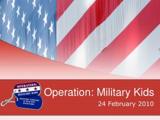 Operation: Military Kids