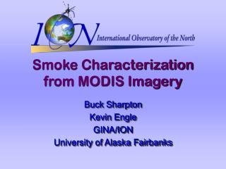 Smoke Characterization from MODIS Imagery