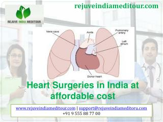 Heart surgery in India at affordable cost