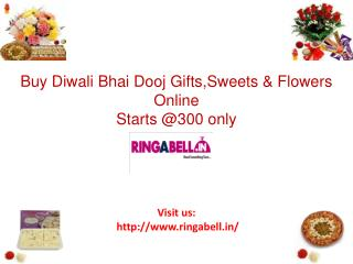 Buy Diwali Bhai Dooj Gifts, Sweets, Flowers, Crackers, Gift