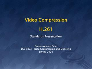 Video Compression H.261