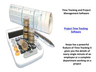 Time Tracking and Project Management Software