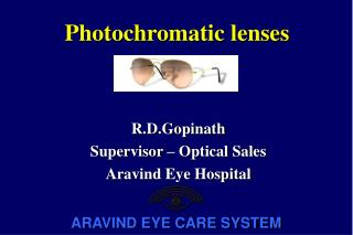 Photochromatic lenses