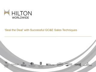 'Seal the Deal' with Successful GC&E Sales Techniques
