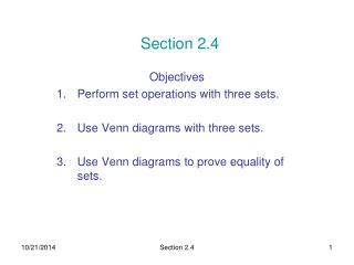 Section 2.4
