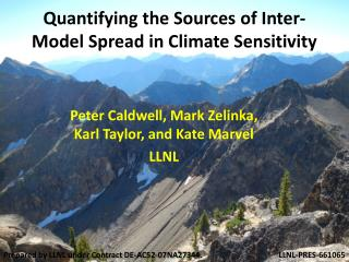 Quantifying the Sources  of Inter-Model Spread in Climate Sensitivity