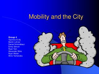 Mobility and the City