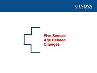 Five Senses Age Related Changes