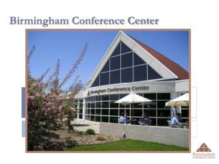 Birmingham Conference Center