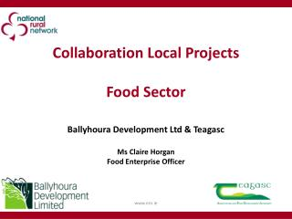 Collaboration Local Projects Food Sector