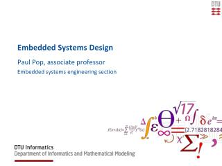 Embedded Systems Design