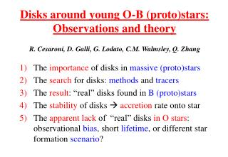 Disks around young O-B (proto)stars: Observations and theory