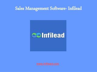 Sales Management Software- Infilead