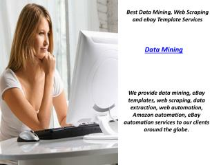 Data Mining | Web Scraping