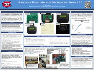Open Source Physics Laboratory Data Acquisition System V 2.0