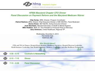 hfma maryland chapter healthcare financial management association