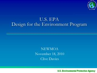 U.S. EPA  Design for the Environment Program