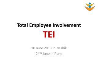 Total Employee Involvement TEI
