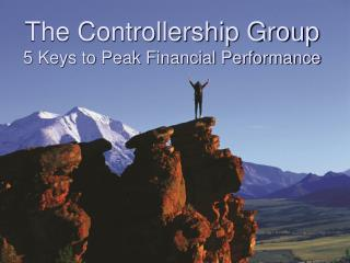 The Controllership Group 5 Keys to Peak Financial Performance