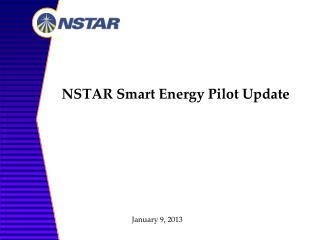 NSTAR Smart Energy Pilot Update