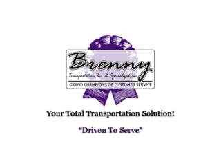 The Brenny Culture: Driven to Serve