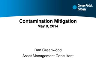 Contamination Mitigation May 8, 2014