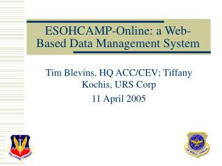 Esohcamp online dating
