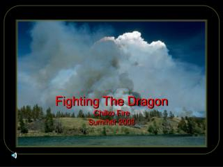 Fighting The Dragon Chilko Fire Summer 2003