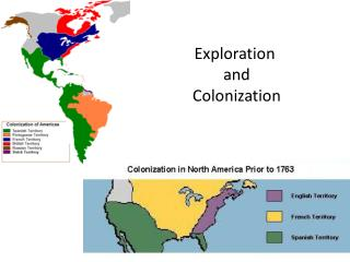 Exploration  and  Colonization