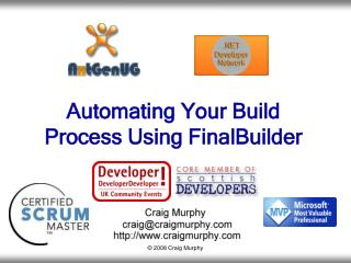 Automating Your Build Process Using FinalBuilder