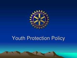 Youth Protection Policy