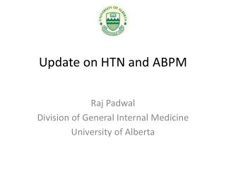 Update on HTN and ABPM