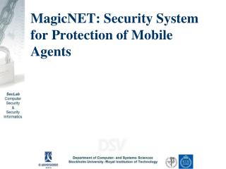 MagicNET: Security System for Protection of Mobile Agents